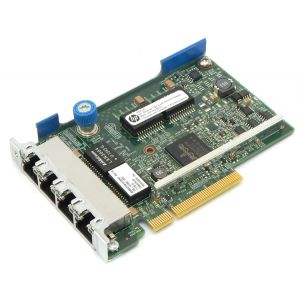 HP used ethernet network adapter 629133-001, 1GB, 4-Port