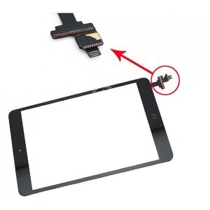 Touch Panel - Digitizer High Copy for iPad Mini, Black